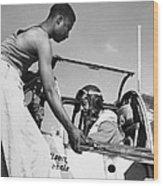 Tuskegee Airmen, C1943 Wood Print