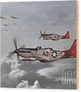 Tuskegee Airmen Wood Print