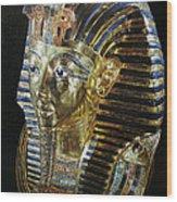 Tutankamon's Golden Mask Wood Print