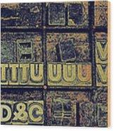 Tv IIi Wood Print