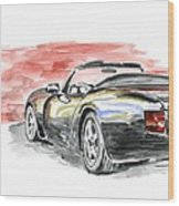 Tvr Griffith Wood Print