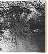Twickenham River Thames Wood Print