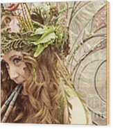 Twig The Fairy  Wood Print