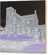 Twighlight Kirk Wood Print