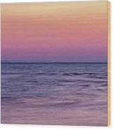 Twilight - Panorama Wood Print