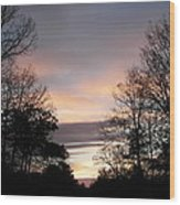 Twilight 1 Wood Print