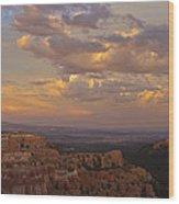 Twilight At Bryce 100 Wood Print