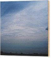 Twilight At Gettysburg Pa Wood Print