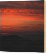Twilight- End Of The Day- Viator's Agonism Wood Print