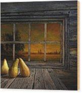 Twilight Of The Evening Wood Print by Veikko Suikkanen
