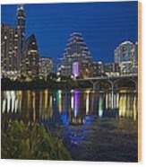 Twilight Reflections Wood Print