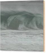 Twilight Sea Wood Print