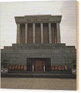 Twilit Ho Chi Minh Mausoleum Wood Print