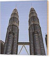 Twilit Petronas Wood Print