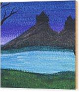 Twin Castles Wood Print