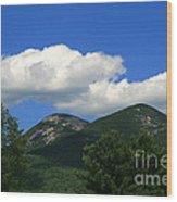 Twin Peaks Wood Print