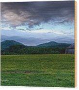 Twin Peaks Wood Print by Paul Herrmann