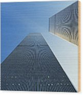 Twin Towers Wood Print by Jon Neidert