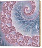 Twirly Swirl Wood Print