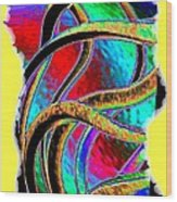 Twist And Shout 3 Wood Print