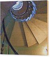 twisted stairs Vizcaya Wood Print