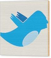 Twitter George Washington Wood Print