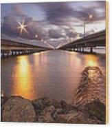 Two Bridges #1 Wood Print