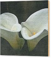 Two Wood Print by Cathie Tyler
