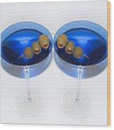 Two Drink Minimum Wood Print