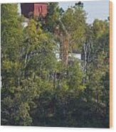 Two Harbors Mn Lighthouse 19 Wood Print