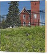 Two Harbors Mn Lighthouse 26 Wood Print