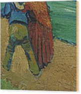 Two Lovers Wood Print