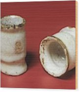 Two Ointment Pots Wood Print