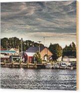 Two Rivers Pierhead Lighthouse  Wood Print