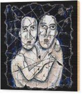 Two Souls Wood Print