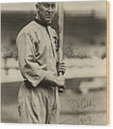 Ty Cobb  Poster Wood Print