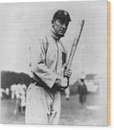 Ty Cobb Wood Print by Unknown