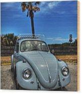 Tybee Island Beach Bug 002 Wood Print