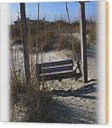 Tybee Island Georgia Wood Print