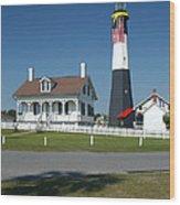 Tybee Island Lighthouse Ga Wood Print