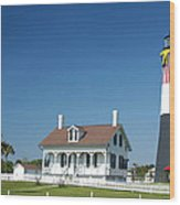 Tybee Island Lighthouse Georgia Wood Print