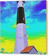 Tybee Island Lighthouse - Photopower Wood Print
