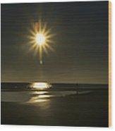 Tybee Sunrise Wood Print