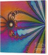 Tye Dye Wood Print