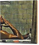 Tyler Durden Wood Print