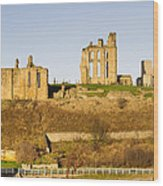 Tynemouth Priory And Castle Wood Print