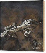 Typhon And Nebula Wood Print
