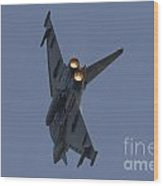 Typhoon Afterburner Wood Print