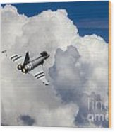 Typhoon Fighter  Wood Print