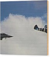 Typhoon V Spitfire Wood Print